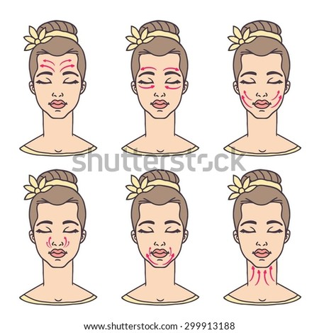 "Face massage instructions"" stock photo and royalty-free images on."