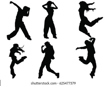 Dancer Silhouette Images Stock Photos Vectors Shutterstock