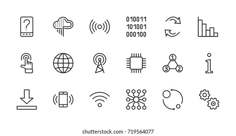 Data Icon Images Stock Photos Vectors Shutterstock Available source files and icon fonts for both personal and commercial use. https www shutterstock com image vector set data analysis related technology vector 719564077