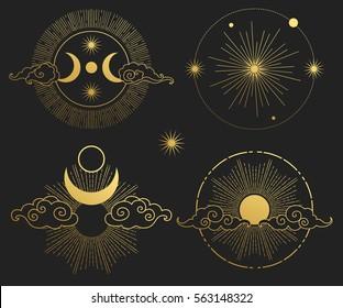 Moon Symbol Images, Stock Photos & Vectors | Shutterstock