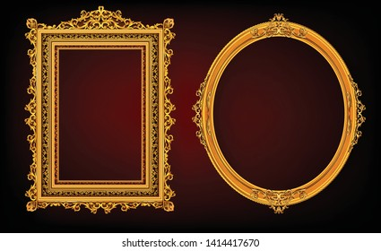 a9303b6a46f0 Set of Decorative vintage frames and borders set,Silver metal photo frame  with corner Thailand