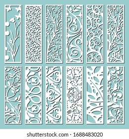 Set of decorative wall panels