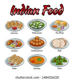 Indian Food Clipart Images Stock Photos Vectors Shutterstock
