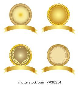 Set of design elements. Vector illustration.