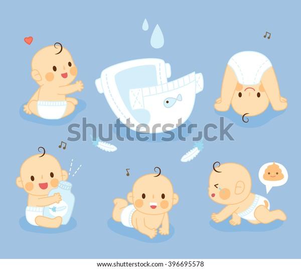 set Diaper Baby