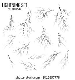 Vectores, imágenes y arte vectorial de stock sobre Lightening On