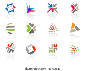 Set of different icons (part 4). Please see more in my portfolio.