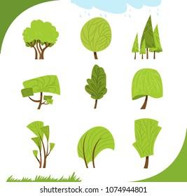 Set of diversity trees