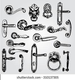 Set of Doorknobs