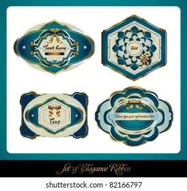 set of elegance label