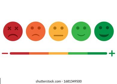 Set of emoji colored icon isolated on white background. Vector illustration. Eps 10