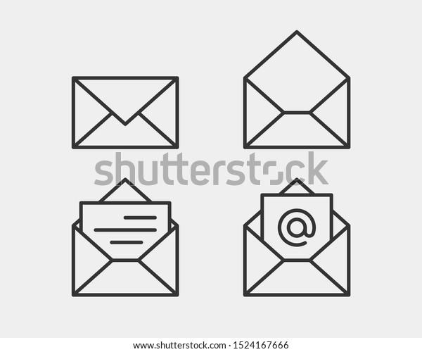 Letter Envelope Address Template from image.shutterstock.com