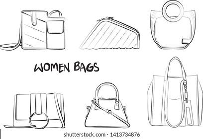 Imágenes, fotos de stock y vectores sobre Girls+fashion+hand ...
