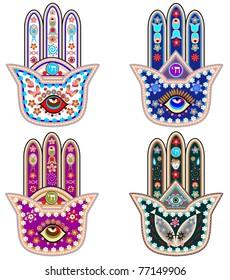 Set of Fatima  hands