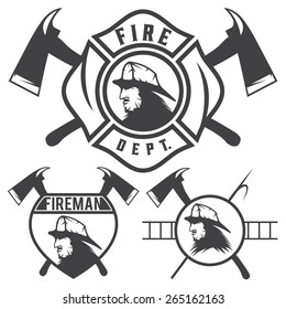 fire department logo images stock photos vectors shutterstock
