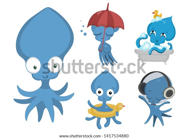 Free Png Octopus Png Png Image With Transparent Background - Octopus Sea  Monster Clipart - Full Size Clipart (#4529030) - PinClipart