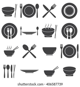 Set of Food and Restaurant icons