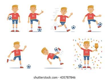 Fussballer Modern Stock Illustrations Images Vectors