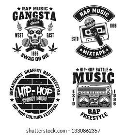 Rap Logo Images, Stock Photos & Vectors | Shutterstock