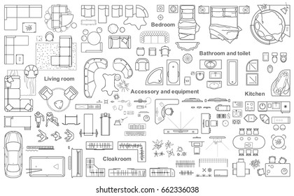Architectural+drawing+layout+furniture Images, Stock Photos