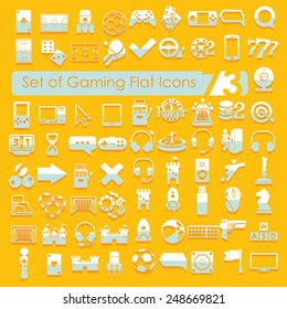 Set of game icons