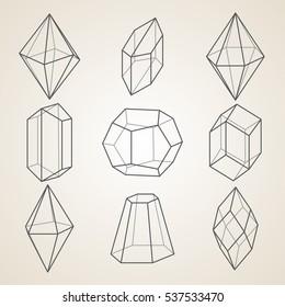 Diamond Shape 3d Images, Stock Photos & Vectors | Shutterstock