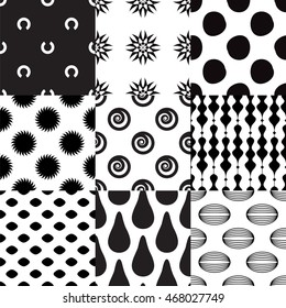 Set of geometric pattern part 4.
