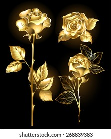 Royalty Free Golden Rose Stock Images Photos Vectors
