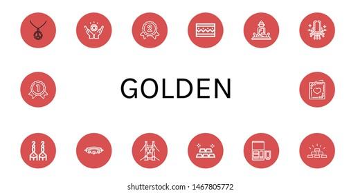 Gold Bridge Images, Stock Photos & Vectors | Shutterstock