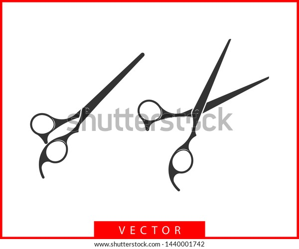 Hair Cutting Scissors Vector 60