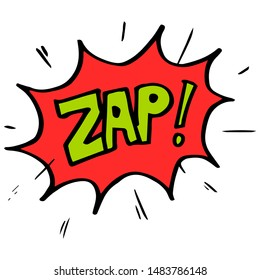 set of Hand drawn comic speech bubbles with emotion and text ouch, zap, woof, splash, smack, poof, crash, crack, boing. Vector doodle design element comic explosion cartoon illustrations isolated .