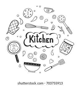 Doodle Recipe Images, Stock Photos \u0026 Vectors