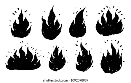 Flame Hand Images Stock Photos Vectors Shutterstock For your kind information, i told you that cb editing is only one possible on photoshop 3. https www shutterstock com image vector set hand drawn flames vector 1092098987
