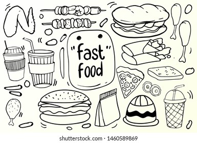 Burger Sketches Stock Vectors Images Vector Art Shutterstock