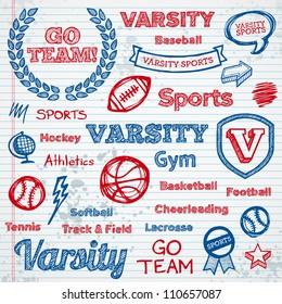 Varsity Font Images, Stock Photos & Vectors | Shutterstock
