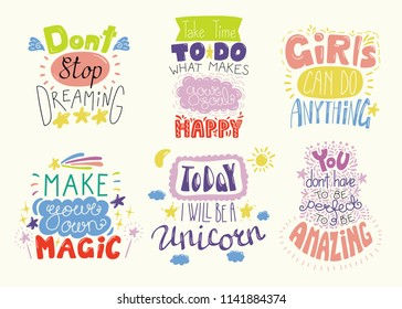 Inspirational Quotes Children Images, Stock Photos & Vectors ...