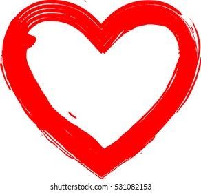 hearts grunge stamps collectionlove shapes your stock vector rh shutterstock com Happy Valentine's Day Cartoon Happy Valentine's Day Cartoon