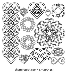 Celtic Heart Images Stock Photos Vectors Shutterstock