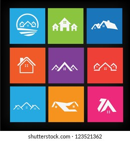 Set of house icons 2