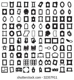 Set of Hundred Frames