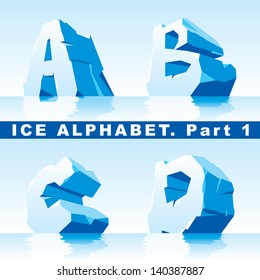 set of ice letters.  Part 1