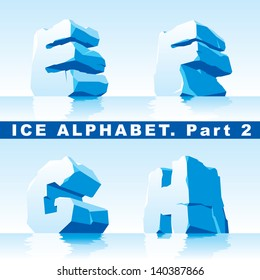set of ice letters.  Part 2