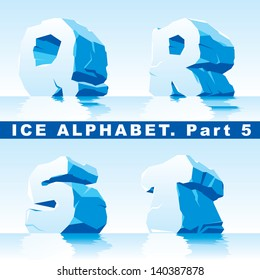 set of ice letters.  Part 5