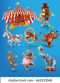 set icons for circus