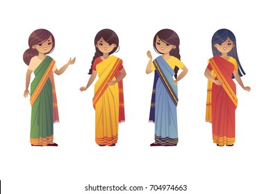 8cce09299d Indian Women Clothes Stock Vectors, Images & Vector Art | Shutterstock