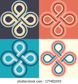 set infinity circles