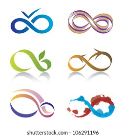 Set of Infinity Icons
