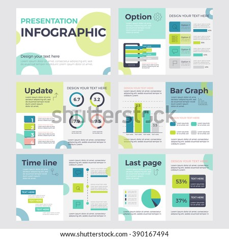 set of infographic presentation concept of business and marketing vector element template powerpoint - 53 Powerpoint Template For Business Final