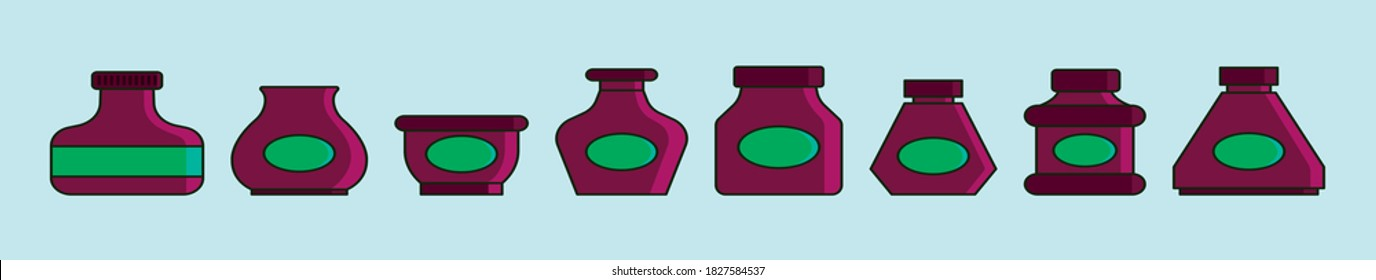 Ink Bottle Cartoon Images Stock Photos Vectors Shutterstock