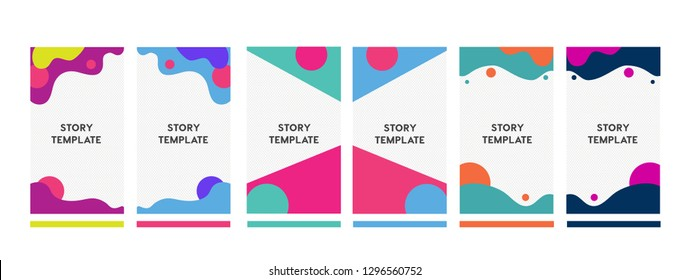 set of Instagram stories sale banner background, instagram template photo, summer sale can use for website, mobile app, poster, flyer, coupon, gift card, smartphone template.Instagram banners
